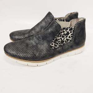 Rieker Antistress Combination Slip-on Ankle Boot 9